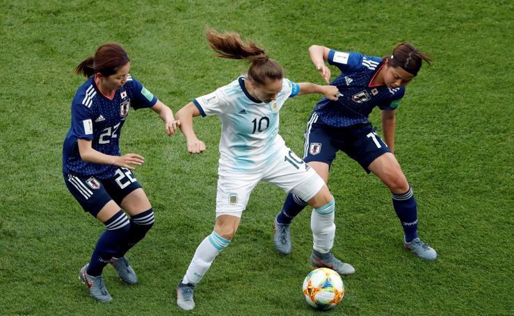 Estefanía Banini, la estrella argentina del Mundial femenino de fútbol