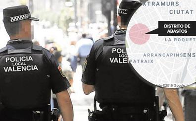 Un joven de 24 años, detenido por intentar tocamientos sexuales a menores en las calles de Valencia