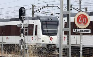 La línea 2 de metro, cortada durante dos horas entre Pobla de Vallbona y l'Eliana