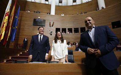 Dalmau y Mónica Oltra, a gritos en el despacho del Palau