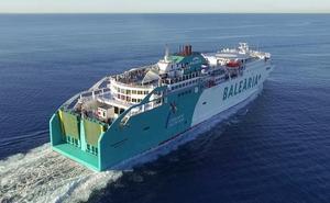 Pánico en el ferry que une Dénia y Palma al estar a punto de chocar contra otro barco