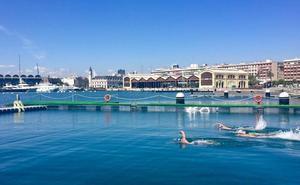 La Marina pone en marcha la primera piscina natural y urbana de Valencia