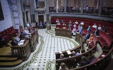 Último pleno en el Ayuntamiento de Valencia antes de la constitución de la nueva corporación el sábado
