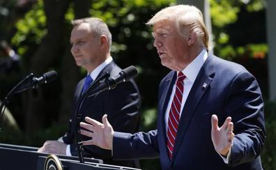 Trump anuncia el próximo despliegue de 1.000 soldados más en Polonia