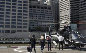 Llegan los primeros helicópteros de Uber