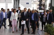 Primera sesión de investidura en Les Corts de la X Legislatura