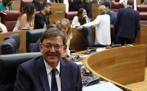 Puig, presidente tras una investidura que muestra las grietas del tripartito