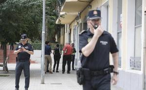 La policía cerca al sospechoso de Xàtiva