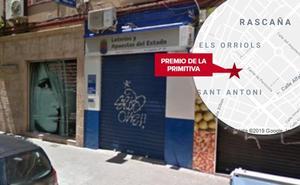 La Primitiva deja un premio de 802.000 euros en la ciudad de Valencia