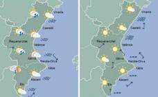 El tiempo en Valencia: por qué no lavar el coche este viernes