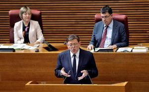 Sigue en directo la sesión de investidura de Ximo Puig como presidente de la Generalitat Valenciana