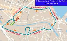 Calles cortadas en Valencia por la carrera Marta Fernández de Castro, horario de salida y recorrido