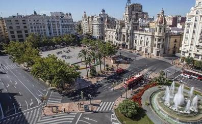 Los productos innovadores toman la plaza del Ayuntamiento de Valencia