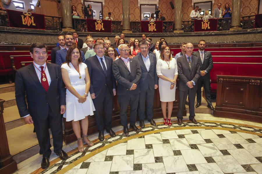 Elección de Joan Ribó como alcalde de Valencia y constitución del Ayuntamiento de Valencia en 2019