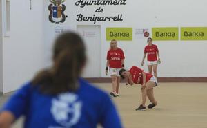 Bicorp domina la Lliga femenina de raspall