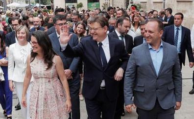 Ximo Puig avanza que la composición del Consell se sabrá «al final de la tarde» o «durante la noche»