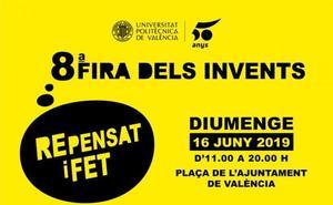 Hoy llega la Feria de los Inventos a Valencia: drones, rosquilletas de grillo y un robot con emociones, en la plaza del Ayuntamiento