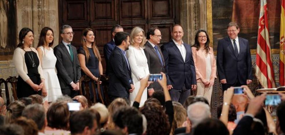 Arcadi España, Mireia Mollà y Carolina Pascual, nuevos consellers