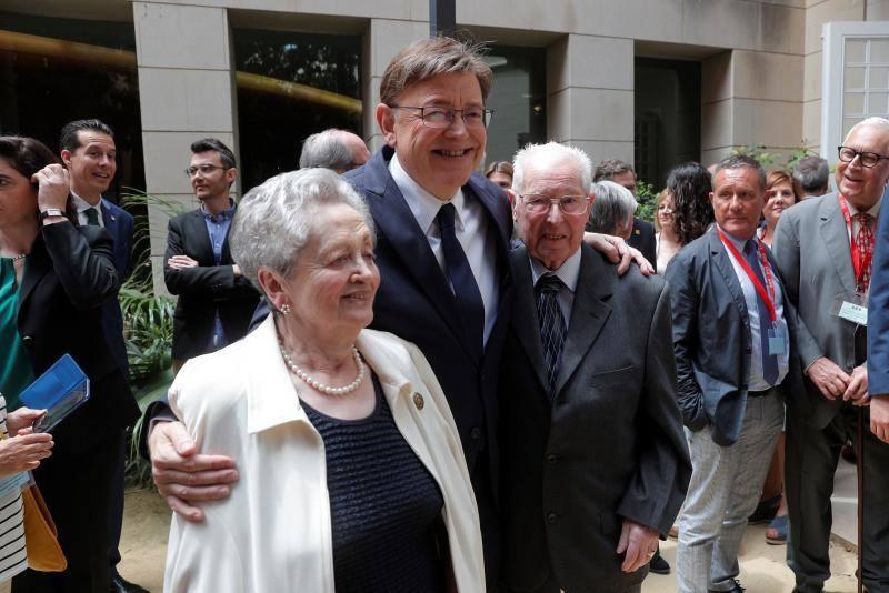 Toma de posesión de Ximo Puig como presidente de la Generalitat Valenciana