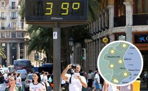 Más de 35º a la sombra y tormentas fuertes para recibir el verano en Valencia