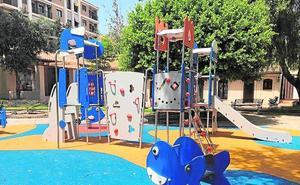 Continúa en Manises el plan de renovación de parques y jardines municipales