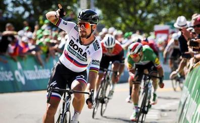 Sagan se anota la tercera etapa y es el nuevo líder