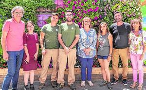 Un programa de empleo forma en Picassent a diez alumnos en jardinería