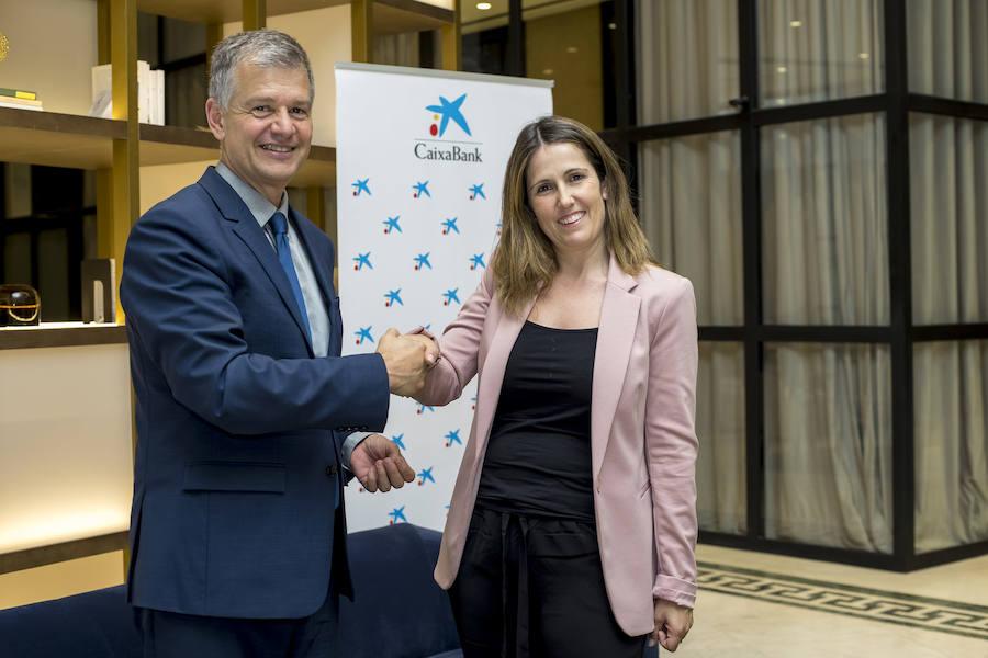 La valenciana Ángela Pérez gana la fase territorial del Premio Mujer Empresaria CaixaBank 2019