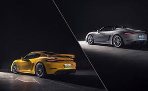 Nuevo motor para los Porsche 718 Spyder y Cayman GT4