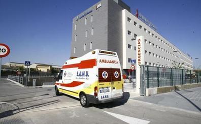 Siete personas afectadas por el humo de un incendio en un edificio de Alborache
