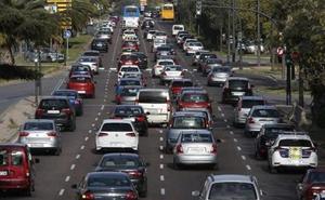 El tráfico vuelve a aumentar en los grandes accesos a Valencia por las malas conexiones con l'Horta