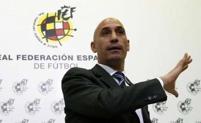Así ha sido la rueda de prensa de Luis Rubiales y Robert Moreno