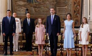 El Rey reafirma su compromiso con los españoles y la vocación integradora de la Corona