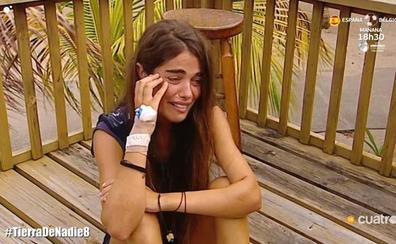 La valenciana Violeta, obligada a abandonar 'Supervivientes'