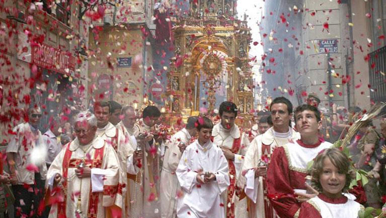 Procesión del Corpus 2019 en Valencia: horario y recorrido