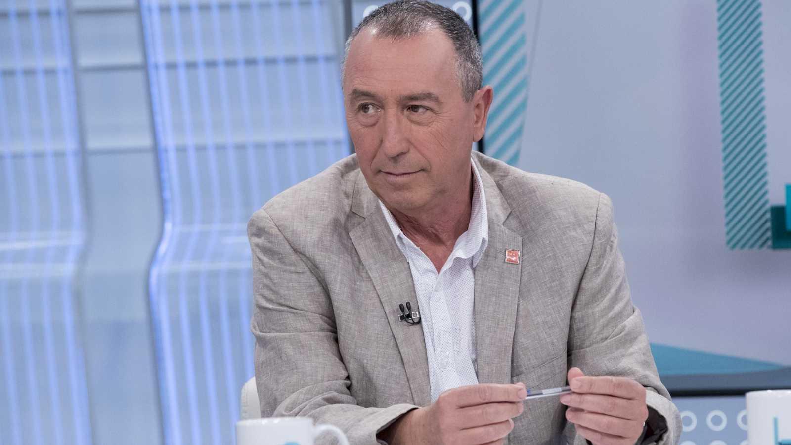 Baldoví descarta formar parte de un gobierno de coalición de PSOE y UP y propone a Errejón o Carmena como independientes