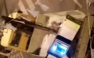 Desmantelada una banda que arrancó nueve cajeros de bancos con grúas