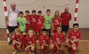 Cuatro equipos del CD Paidos participan en el Torneo Ciudad de Toledo de fútbol sala