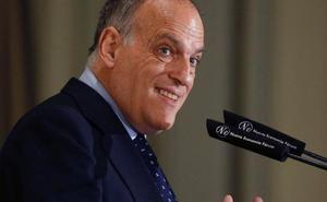 Tebas: «'Oikos' no va a ser como el Levante-Zaragoza»
