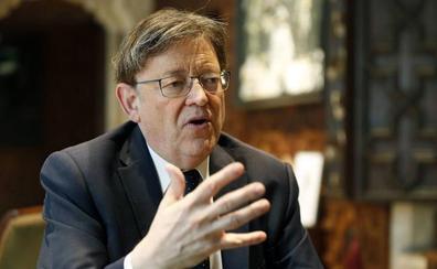 Puig pide al independentista Torra impulsar las relaciones con Cataluña