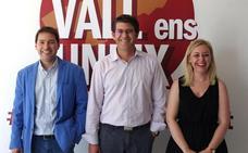 Joan Sanchis representará a la Vall Ens Uneix en la Diputación de Valencia
