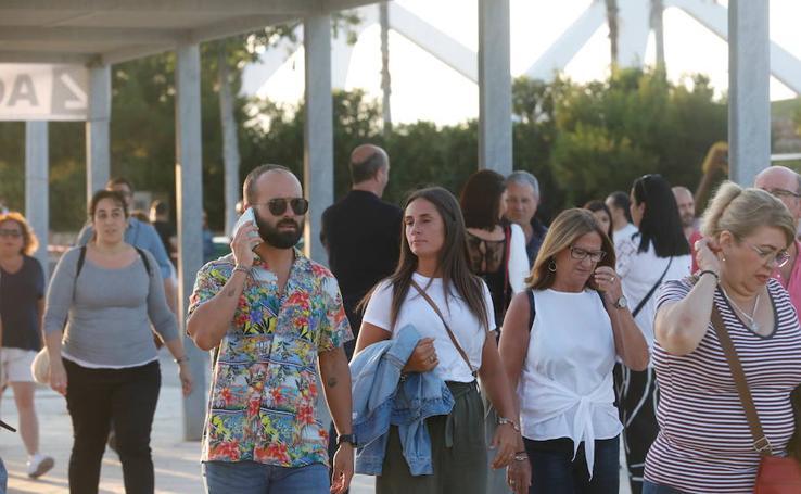 Los valencianos acuden a la llamada de Juan Luis Guerra