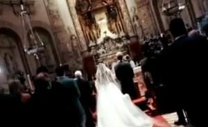 Vídeo: Sergio Ramos y Pilar Rubio muestran cómo fue su boda por dentro