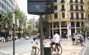 Una masa de aire africano amenaza con disparar los termómetros a 40º