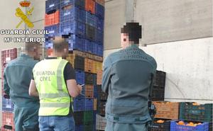 Cae una banda de ladrones por el robo de 285 toneladas de naranjas por media provincia de Valencia