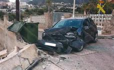Empotra su coche y denuncia que había sufrido un robo