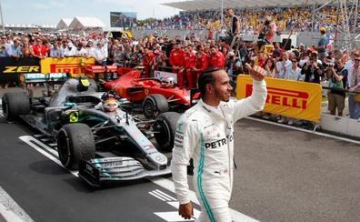 Hamilton gana de paseo por Paul Ricard