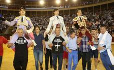 Todos a hombros en Alicante
