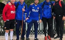 Marcelino cumple con la tradición en Covadonga