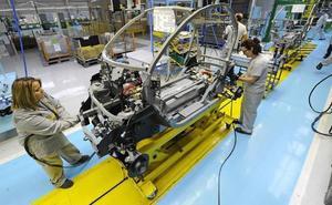 El parón europeo reduce un 5,6% la producción de automóviles desde España